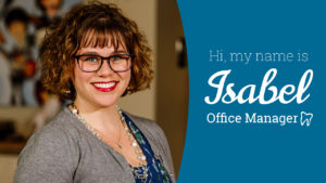 Profile Photo of Staff Member and Office Manager Isabel